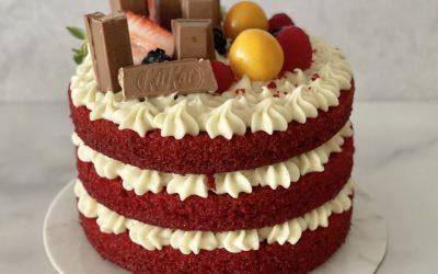 Half Cake Red Velvet